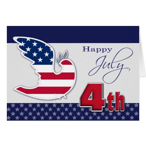4th Of July Cards Sample