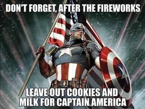 4th Of July Super Hero Meme