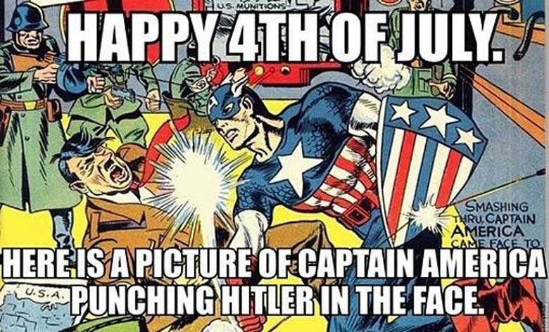 4th Of July Superhero Memes