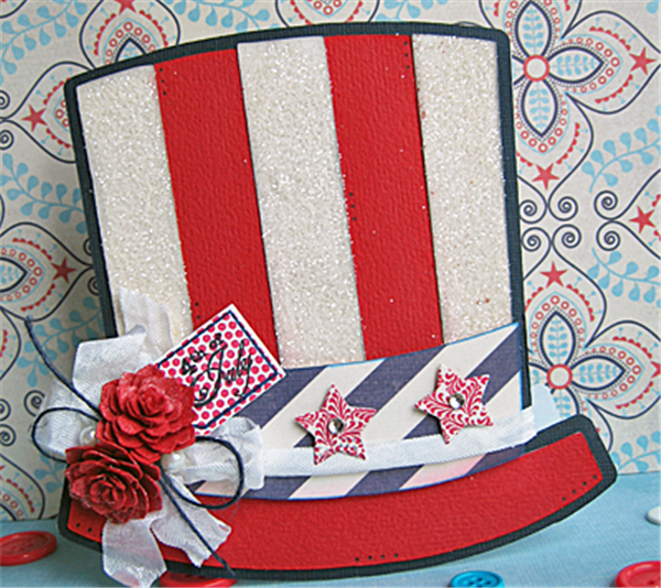 4th of July Cards Crafts