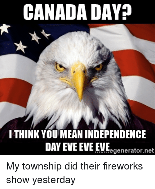 Funny Canada Day Images